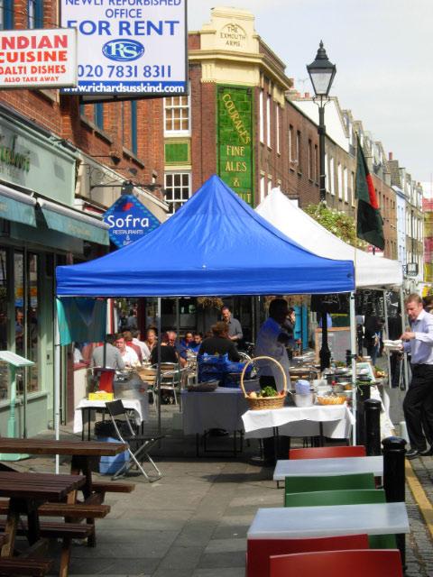 Exmouth Market, Clerkenwell