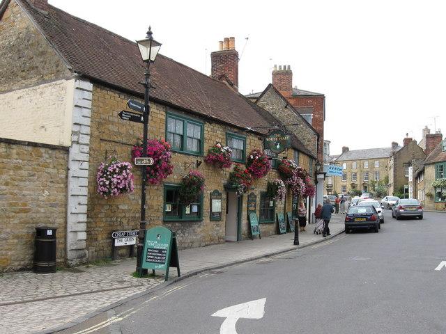 The White Hart  Pub. Sherborne
