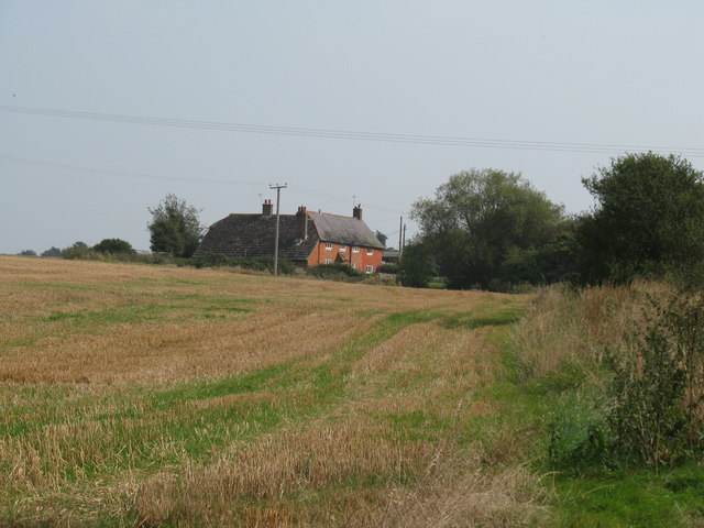 Mockford as seen from footpath to the west