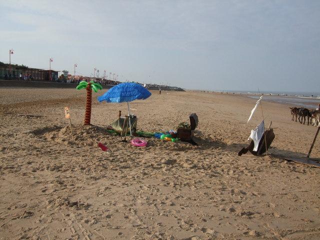 Treasure Island on Mablethorpe Beach