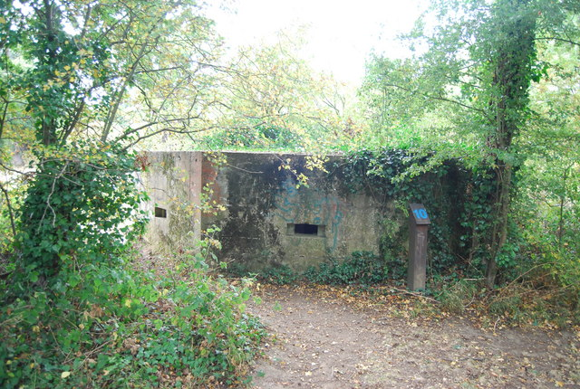 Pillbox by the Wealdway
