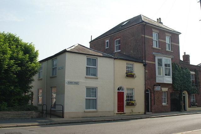 Houses in Eldon Street, Portsmouth