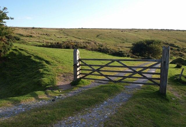 Gate to Swincombe
