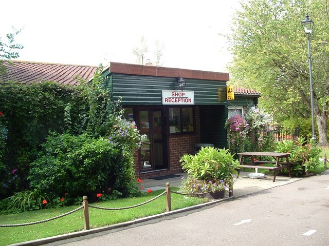 Colchester Holiday Park Reception and Shop