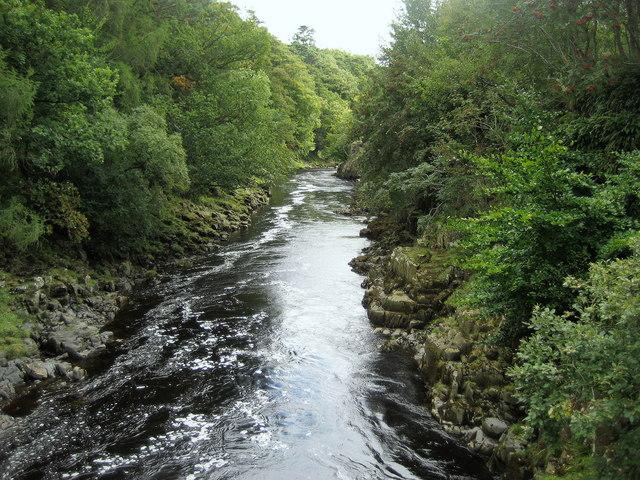 River Tees from Wynch Bridge