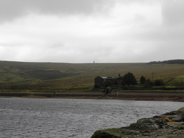 Buildings at Withens Clough Reservoir