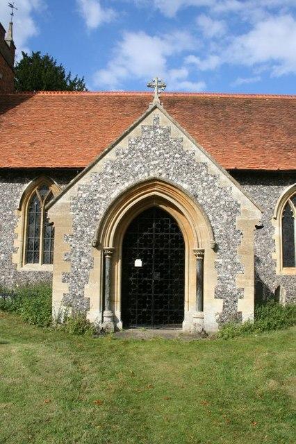The church porch