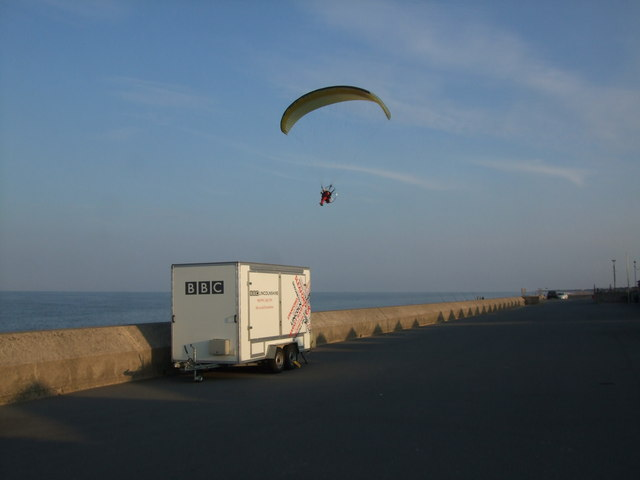 Flying by at Sutton on Sea