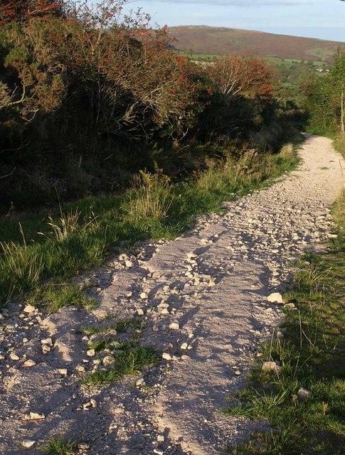 Track to Hexworthy
