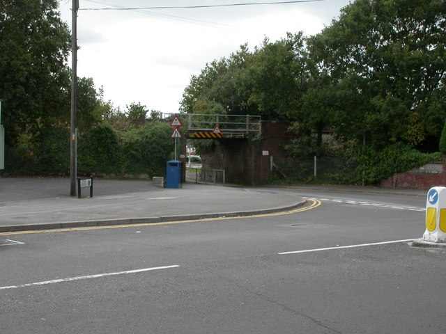 Hamworthy, railway bridge
