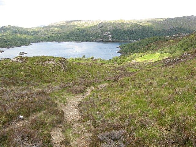 Path on Beinn Bhreac
