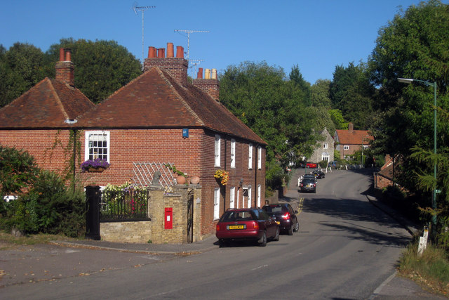 Houses on Church Hill, Harbledown