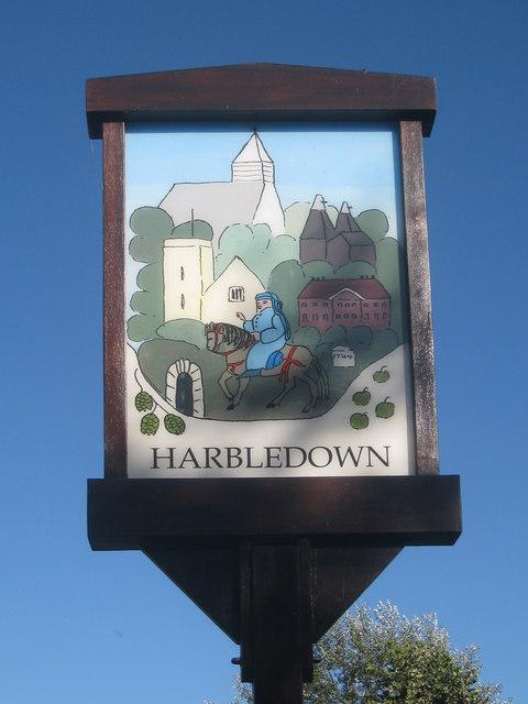 Harbledown Village Sign