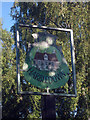 TR1158 : Upper Harbledown Village Sign by Oast House Archive