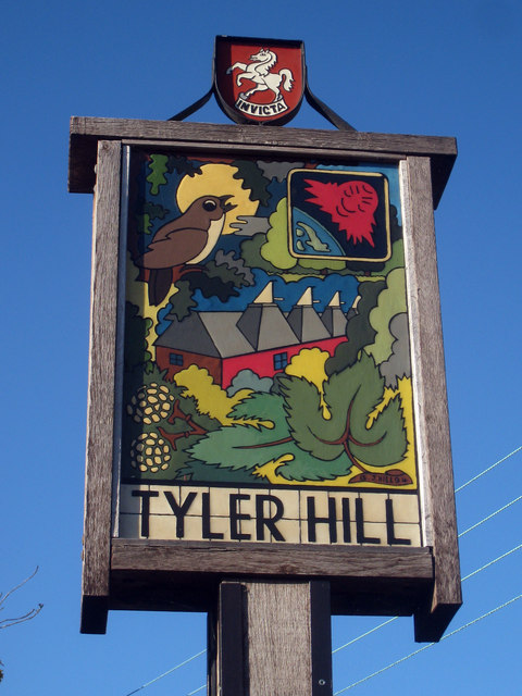 Tyler Hill Village Sign