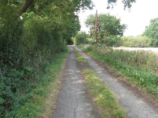 Dragons Lane between Dragon's Farm and Crateman's Farm