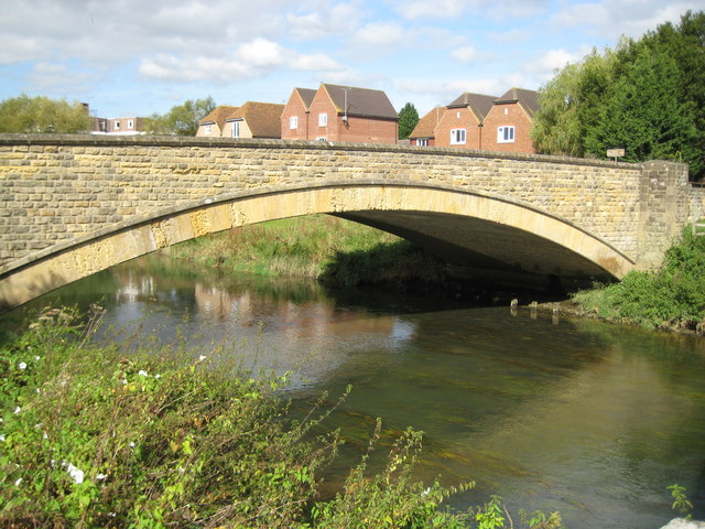 River Arun: A29 Swan Bridge at Pulborough