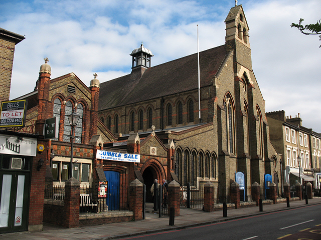 St Mary Magdalene church and hall, Wandsworth