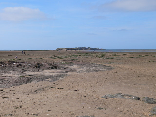 View towards Hilbre from Little Eye