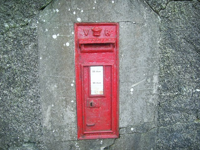 Victorian postbox, near Letterston