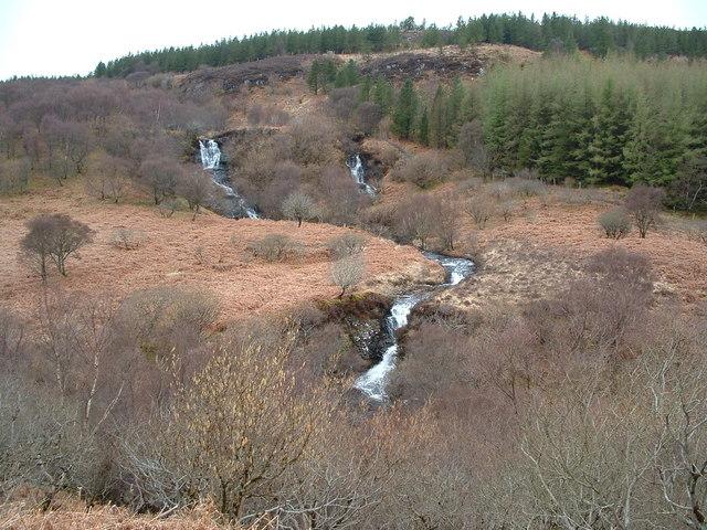 Waterfall near Dervaig