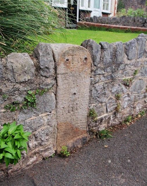 Milestone, Teignmouth Road, Torquay