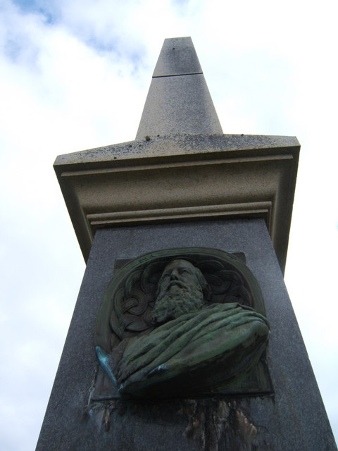 Bronze Bust of Iain Og Ile