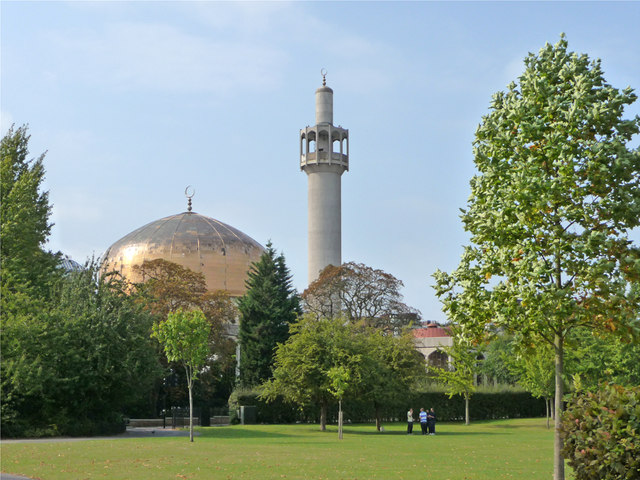 Regent's Park with Mosque in background
