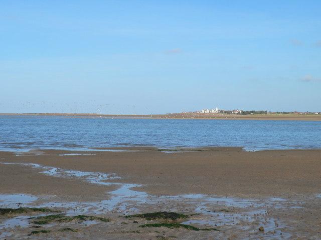 The Dee between Hilbre Islands and Hoylake