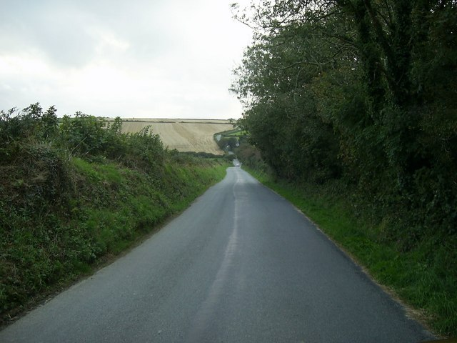 Country road, near Jordanston