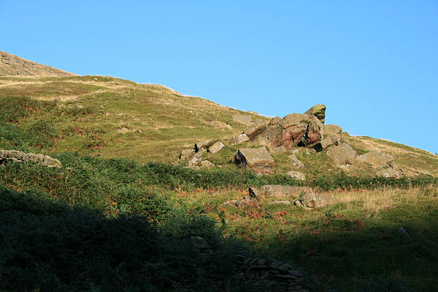 Rock Outcrop in Westend Valley