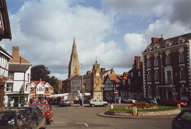 Marketplace, Ruthin