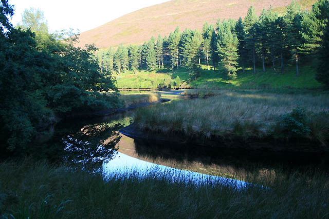 The River Westend Joins Howden Reservoir