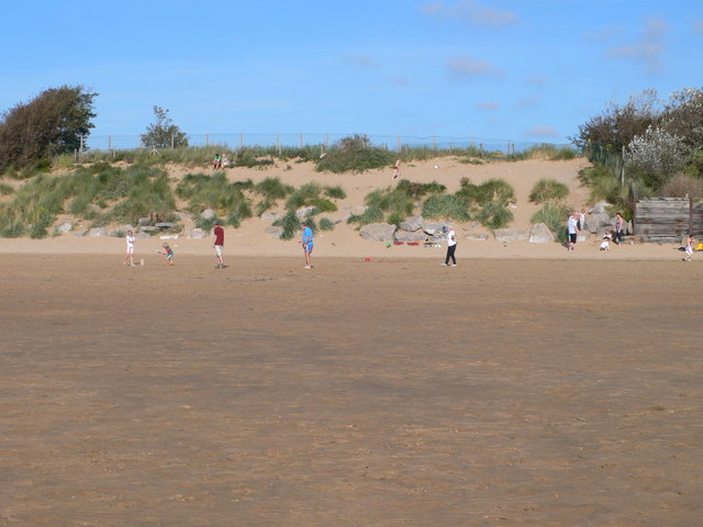 Beach Cricket at West Kirby