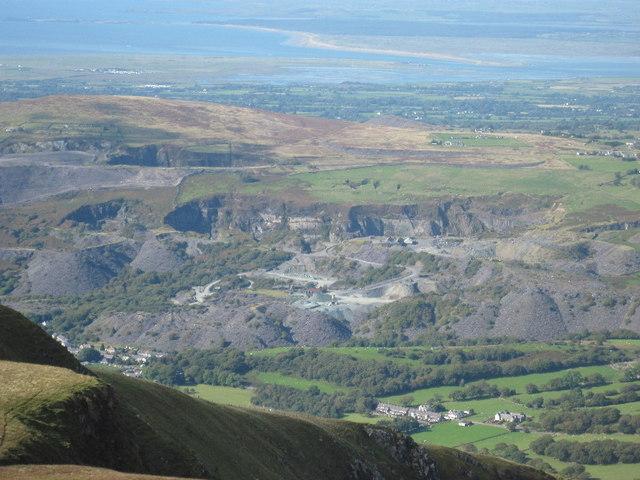 Pen-yr-Orsedd Quarry