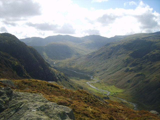 Looking into Langstrath