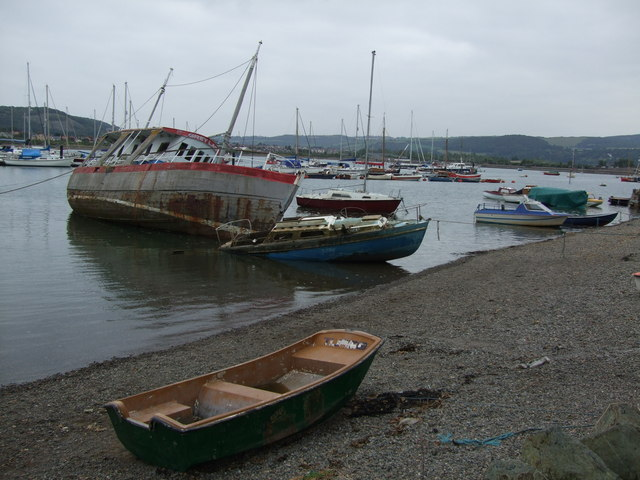 No film stars here at Conwy