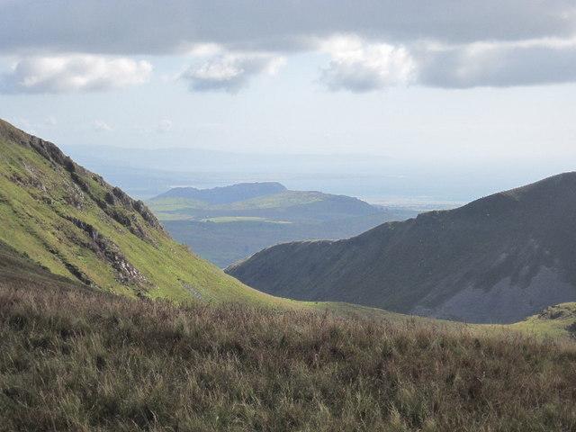 The western slopes of Mynydd Tal-y-Mignedd