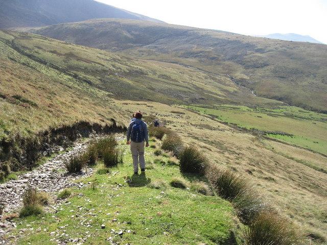 Ancient track on Mynydd Tal-y-Mignedd