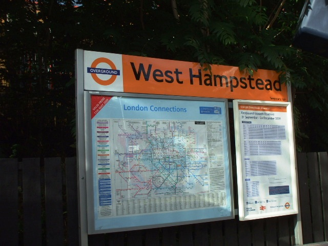 West Hampstead station (NLL), NW6