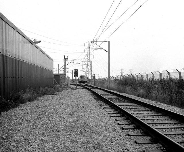 Tyne And Wear Metro. Tyne amp; Wear Metro test track