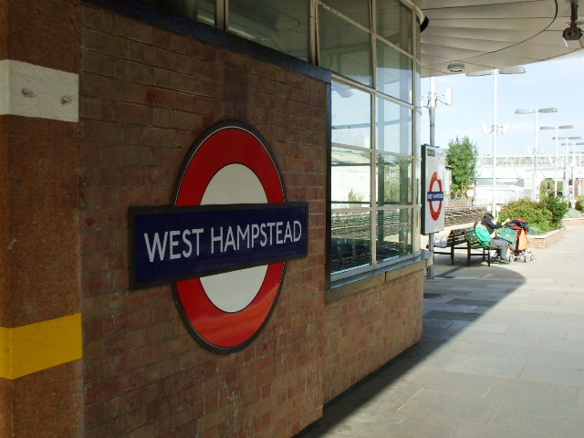 West Hampstead station (JL), NW6