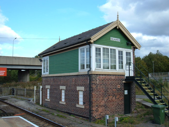 Signal Box, Seamer Station