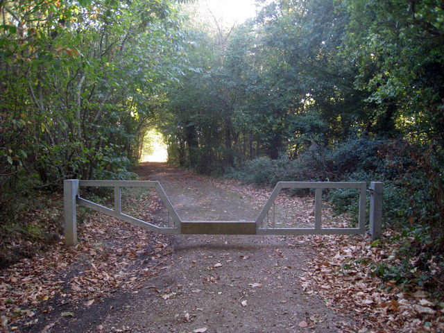 Bridleway off Hackington Road