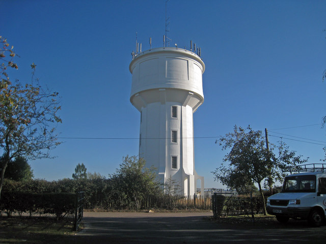 Water Tower off St Thomas Hill