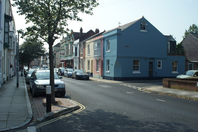Houses in Great Southsea Street, Portsmouth