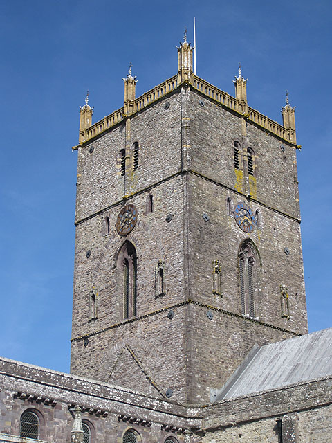 Cathedral tower in Britain's smallest city