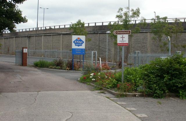 Entrance for Etap and Christchurch Centre