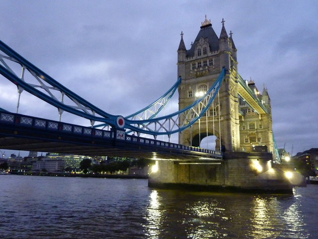 Tower Bridge at dusk