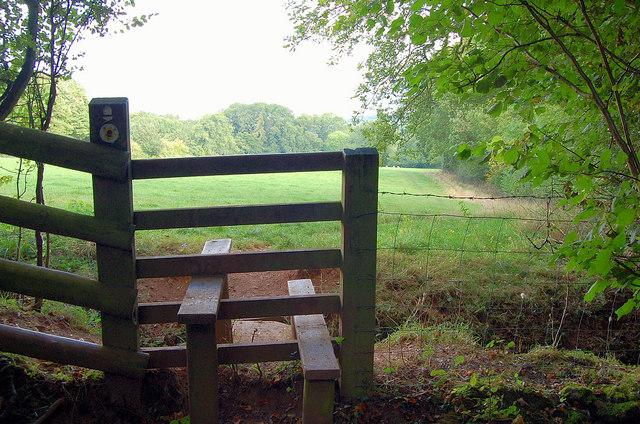 A stile on Offa's Dyke path, Hay